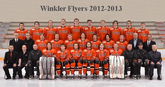 Winkler Flyers 2012-13