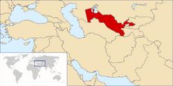 LocationUzbekistan