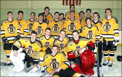 Boston Jr Bruins 2007 EJHL champs