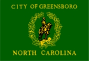 Greensboro, North Carolina Flag