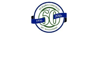 St. Mary's Lincolns 60th anniversary logo