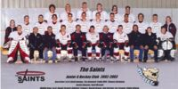 2002-03 Winnipeg Saints season