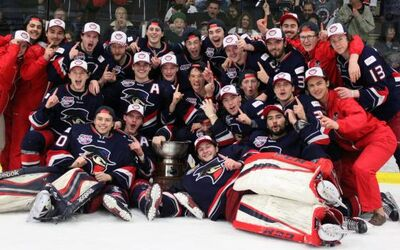 2016 AJHL champs Brook Bandits