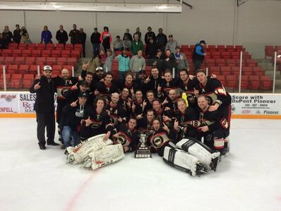 2016 QVHL champs Balgonie Bisons