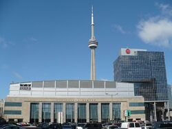 ACC on Bay St and CN Tower