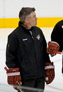 Dave Tippett Coyotes practice