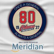 Oshawa Generals 80th anniversary logo