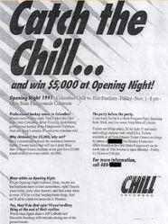 91-92ECHLColumbus GameAd