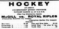 1920-21 Quebec Senior Playoffs
