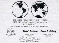 Moon plaque