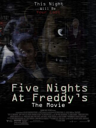 Nights at freddy s the movie idea wiki fandom powered by wikia