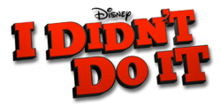 I Didn't Do It Logo