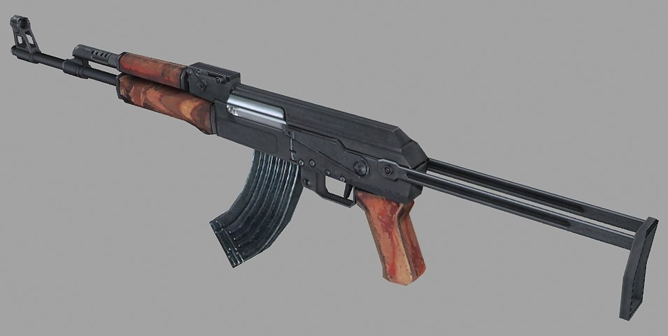 project ak 47 Figure 1 1: exterior view of an assembled ak-47 the ak-47 is perhaps the most easily recognized weapon in the world due to its staple banana clip, safety lever, and.