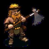 Barbarian-Axe Swinger