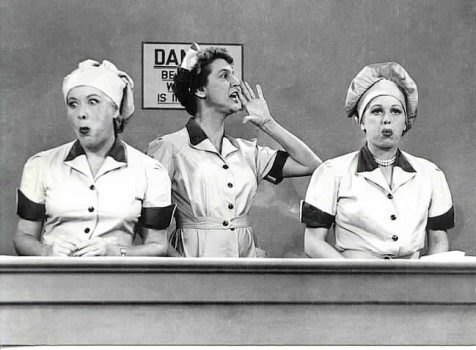 Image result for job switching i love lucy