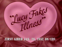 Lucy Fakes Illness