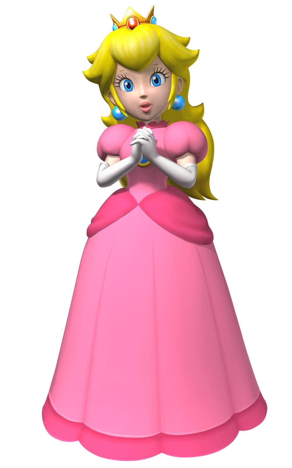 princess peach how tall