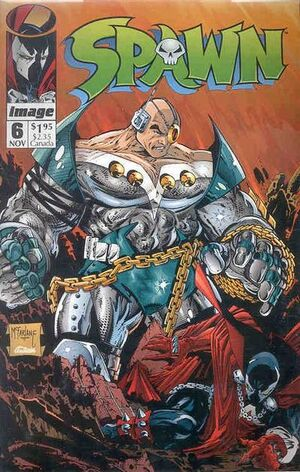 Cover for Spawn #6 (1992)