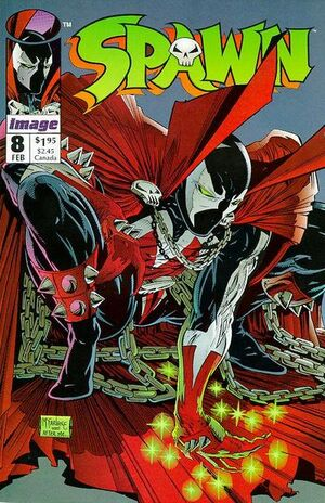 Cover for Spawn #8 (1993)