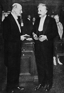 Max Planck, Albert Einstein