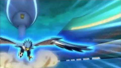 Inazuma Eleven GO Galaxy Episode 26 イナズマイレブンGO ギャラクシー 26 Hayabusa VS Aqua Breath ハヤブサVS アクアブレス