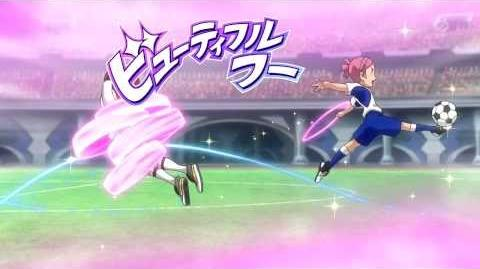 Inazuma Eleven GO Galaxy Beautiful Hoop (ビューティフルフープ) HD