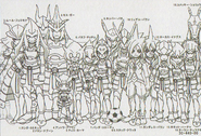 Ratoniik Eleven height chart in Galaxy Databook