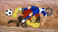 Shindou injured Galaxy 23 HQ