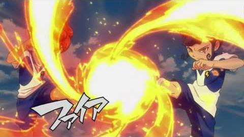 Inazuma Eleven GO Galaxy Fire Tornado DD (ファイアトルネードDD) HD