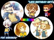 Late Birthday Gift (Haruna)