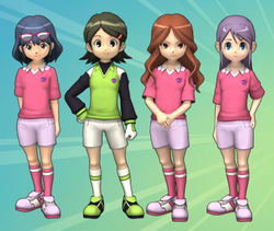 Inazuma Girls Members