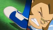 Kurimatsu injuried his ankle