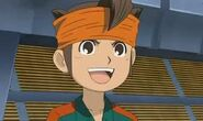 Endou in Teikoku uniform