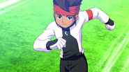 Endou leaving goalpost InaDan HQ