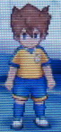 Tenma Soccer Uniform Front Sprite GO Game