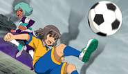 Shindou stopped Einamu CS 21 HQ