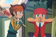 Kanon getting worried because Mamoru saw him