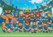 Inazuma Japan game artwork
