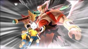 Inazuma Eleven Strikers 2012 Xtreme - Sword Excalibur