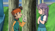 Fuyuka not remembering Endou EP 68
