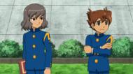 Tenma and shindou