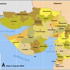 Dists. of Gujarat