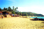 India Goa Anjouna Beach