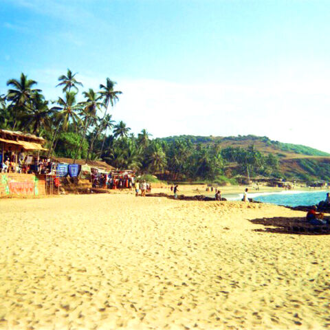 Anjouna Beach