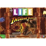Indiana Jones Game of Life Boxed