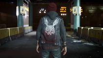 Delsin wearing Rabid vest