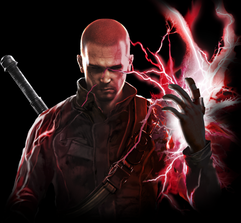 Image - Evil Cole Macgrath Background.png | InFAMOUS Wiki ...