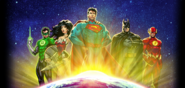 Justice League Infinite Crisis Comic Book Look