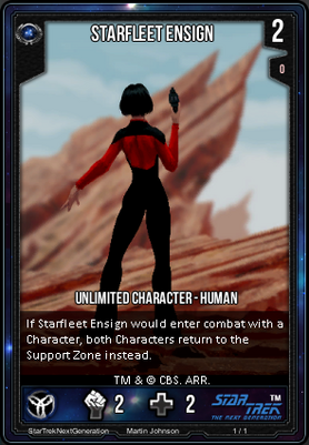 Starfleet Ensign