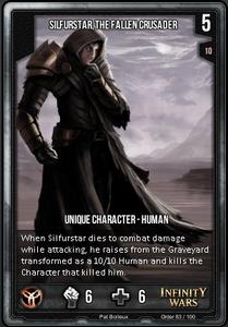 Silfurstar, The Fallen Crusader